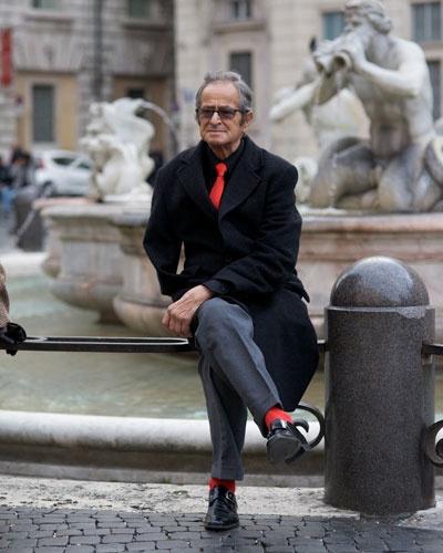 цветные мужские носки 09