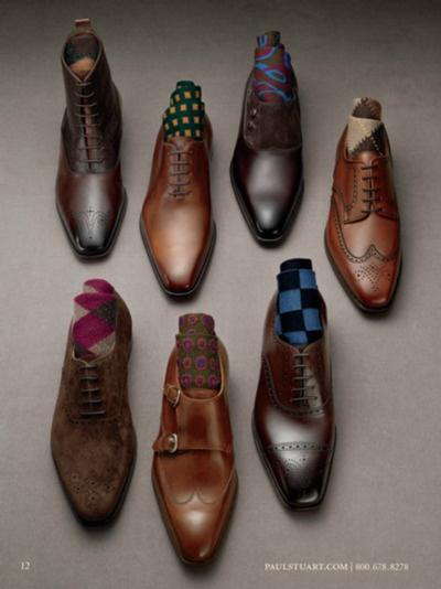цветные мужские носки 11