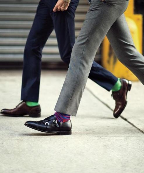 цветные мужские носки 12