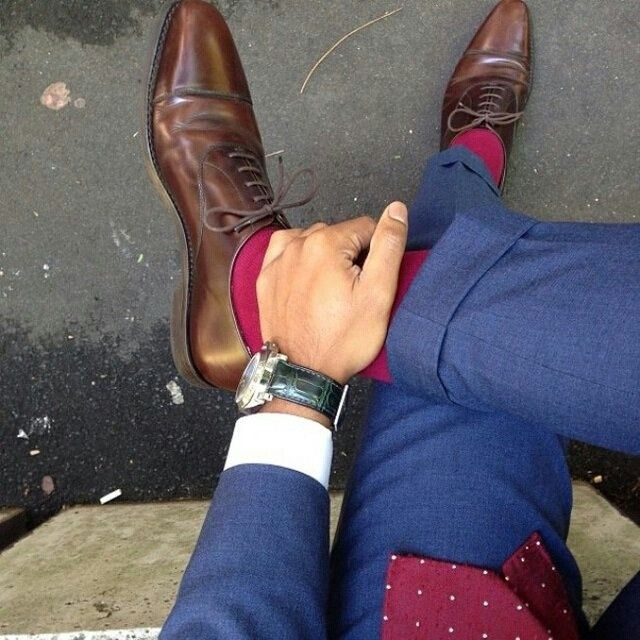 цветные мужские носки 17