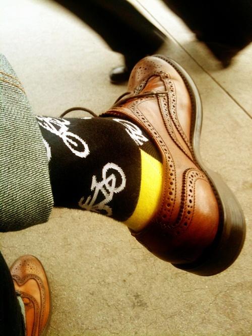 цветные мужские носки 18