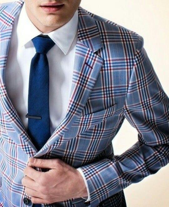 как носить зажим для галстука 07