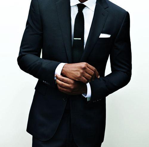 как носить зажим для галстука 11