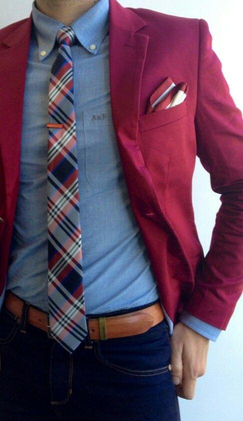 как носить зажим для галстука 14