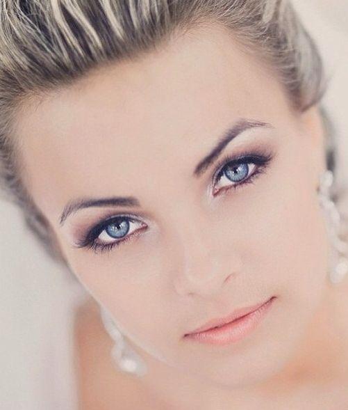 макияж для голубых глаз 05