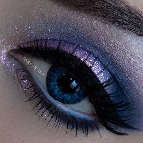 макияж для голубых глаз 06