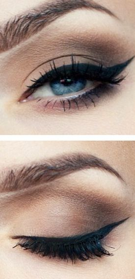 макияж для голубых глаз 07