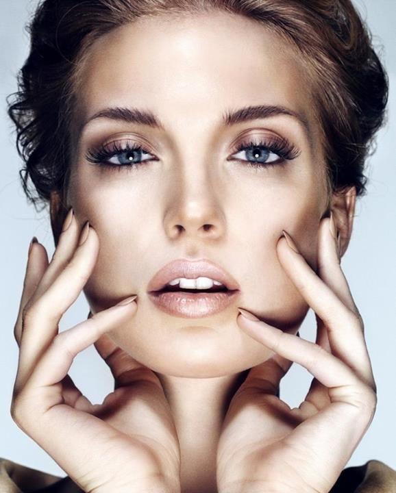 макияж для голубых глаз 11