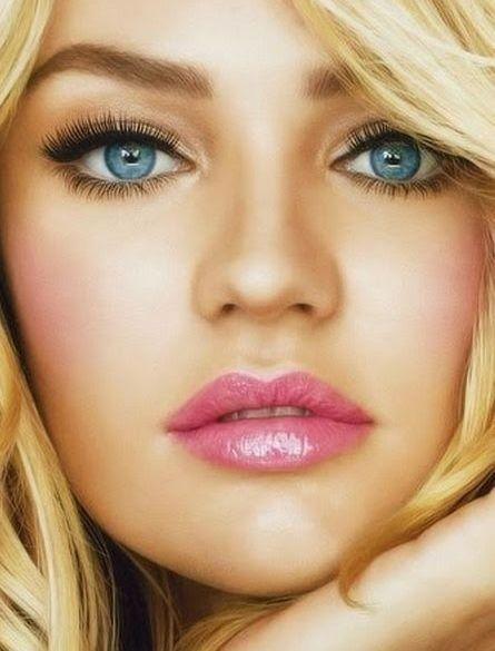макияж для голубых глаз 221