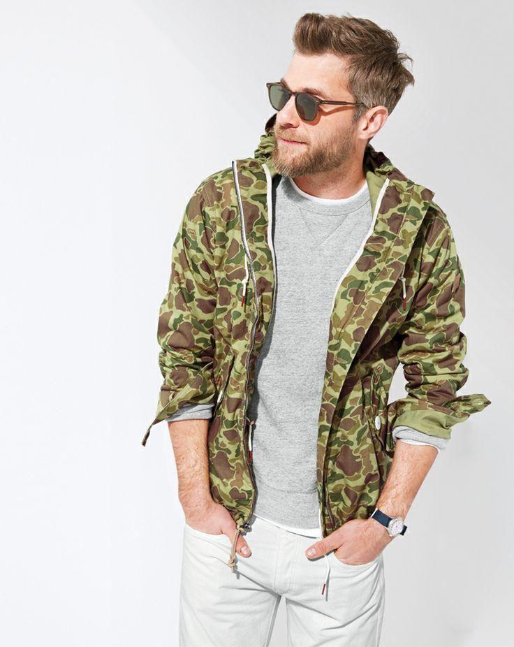 одежда хаки мужской стиль 08
