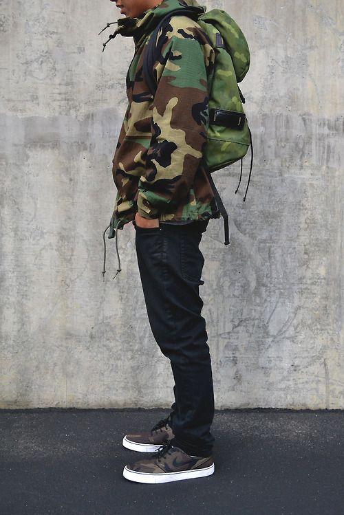 одежда хаки мужской стиль 09