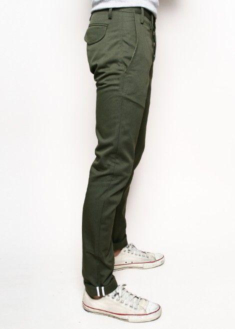 одежда хаки мужской стиль 28