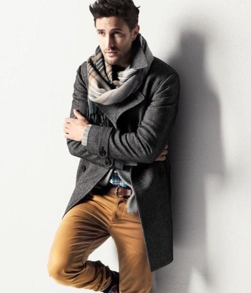 одежда хаки мужской стиль 36