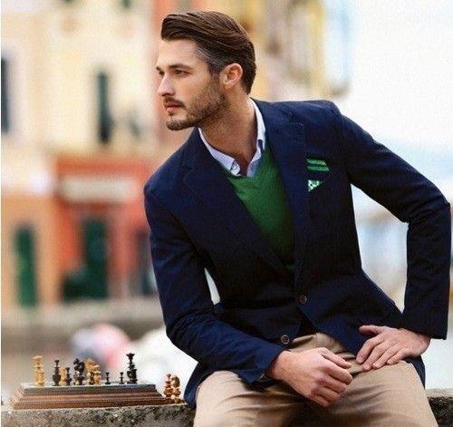 одежда хаки мужской стиль 45