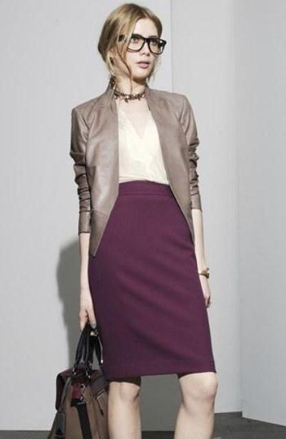 стильная одежда для работы офиса 10