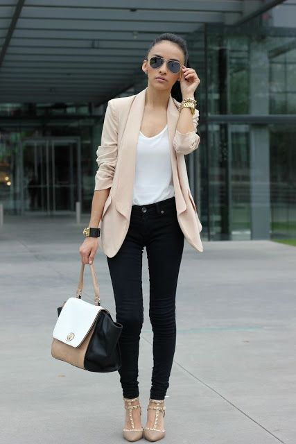 Стильный модный образ женский