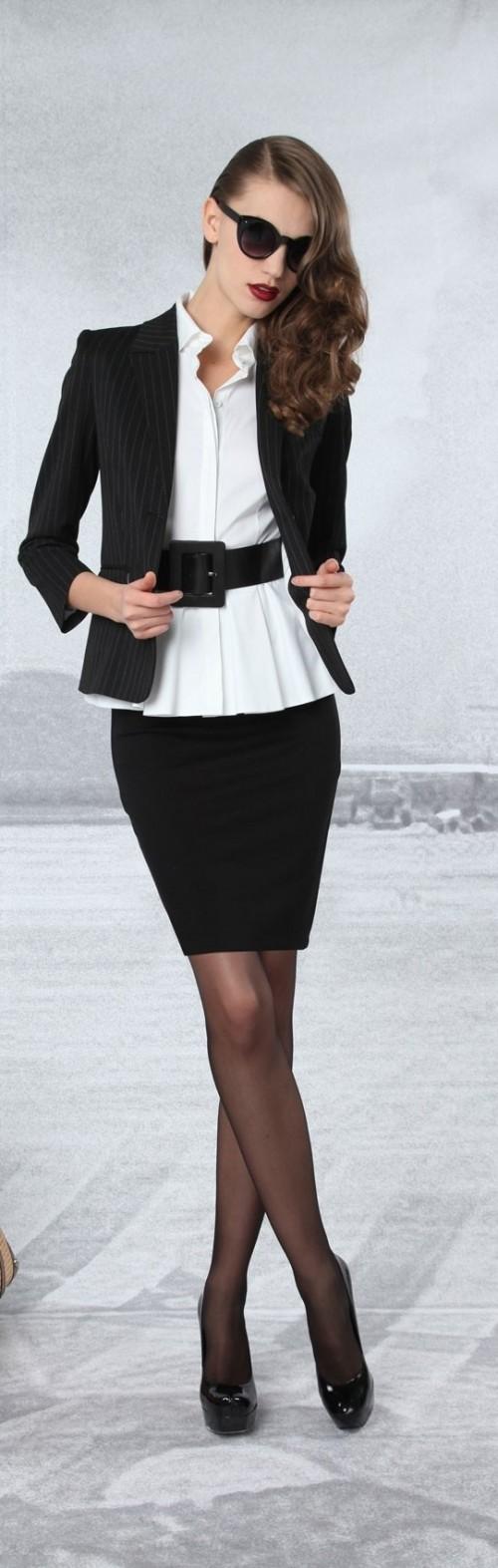 стильная одежда для работы офиса 13