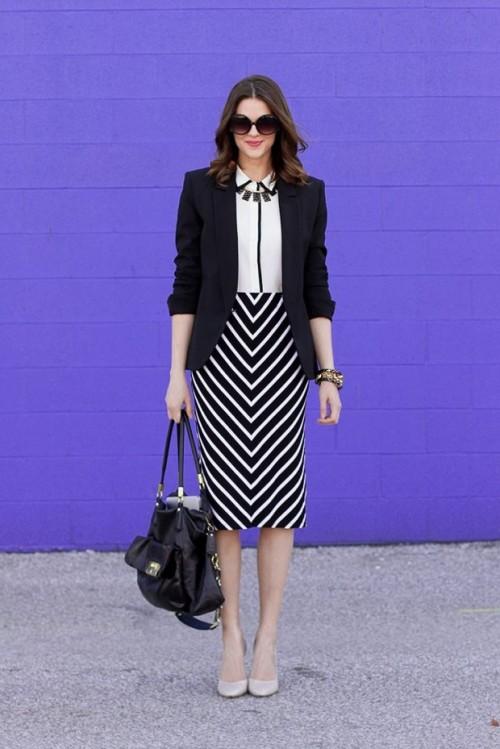 стильная одежда для работы офиса 15