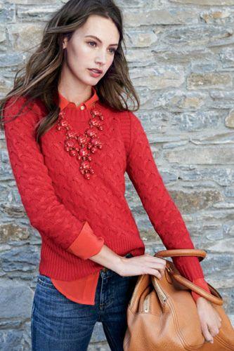 с чем носить красный 10