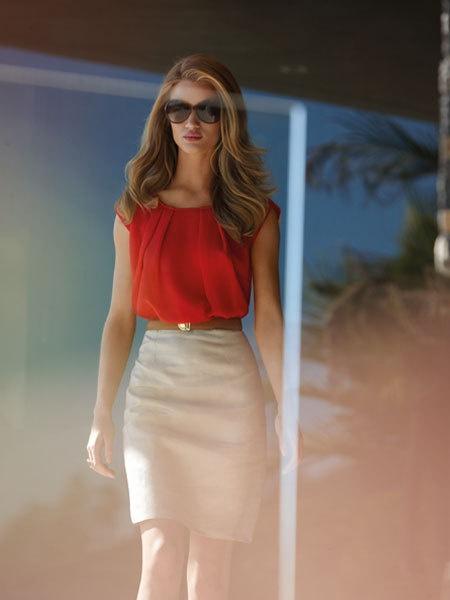 стиль бизнес леди одежда 01