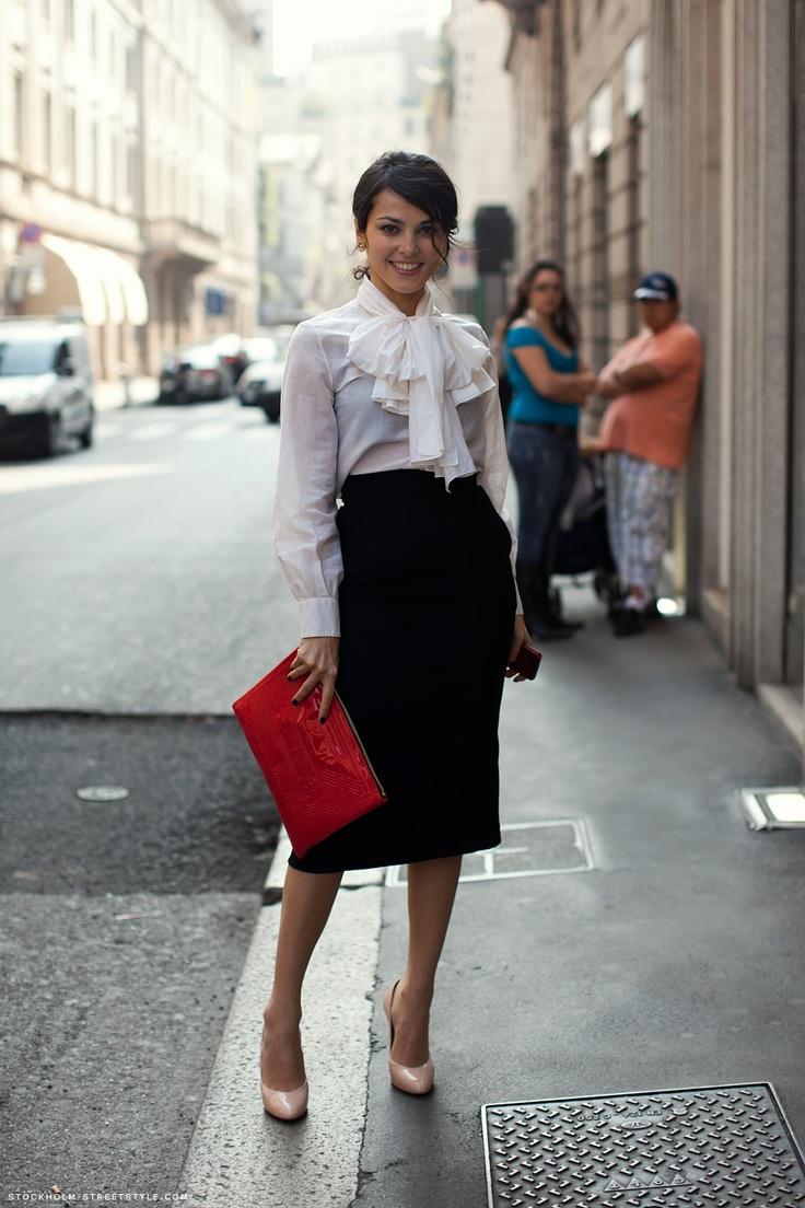 стиль бизнес леди одежда 02