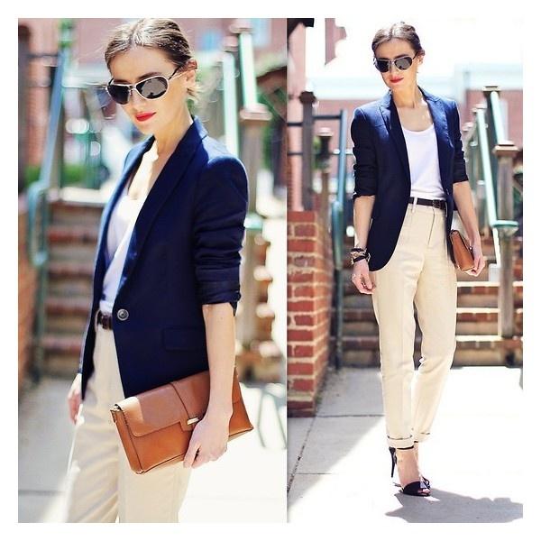 стиль бизнес леди одежда 05