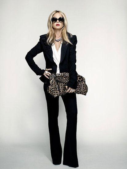 стиль бизнес леди одежда 06