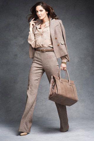 стиль бизнес леди одежда 08