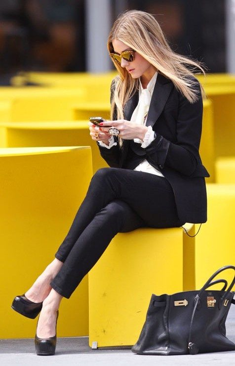 стиль бизнес леди одежда 09