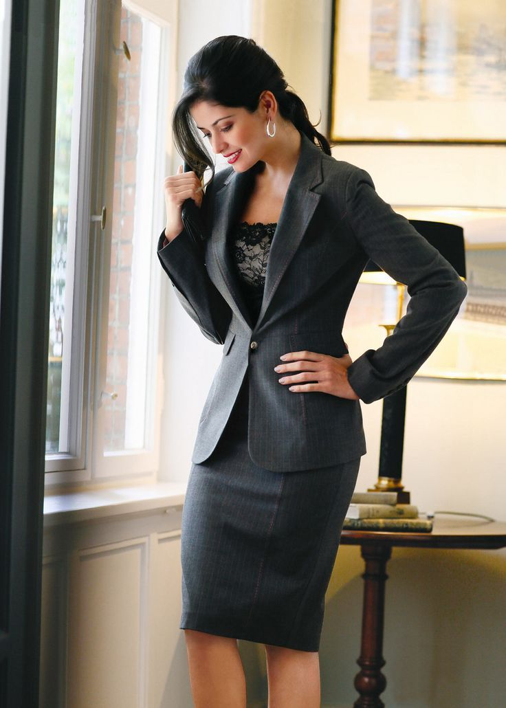 стиль бизнес леди одежда 10