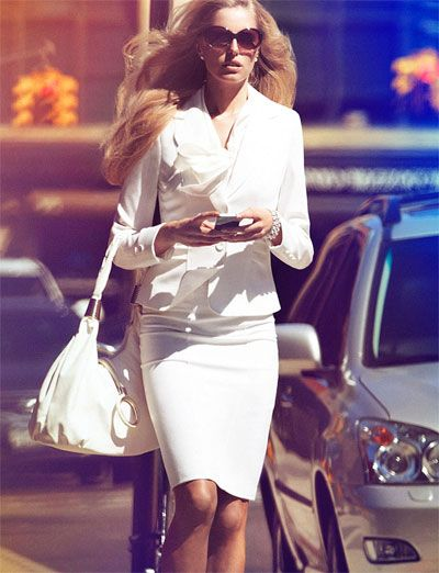 стиль бизнес леди одежда 13