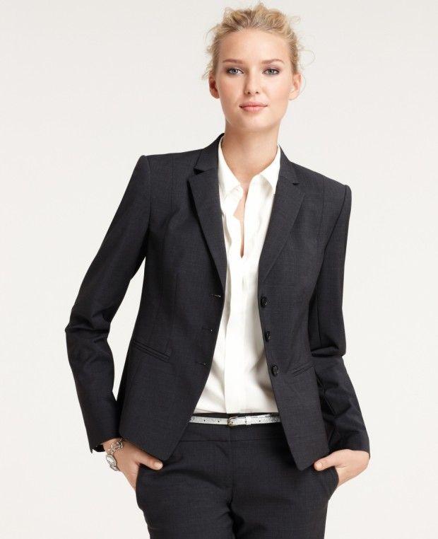 стиль бизнес леди одежда 14