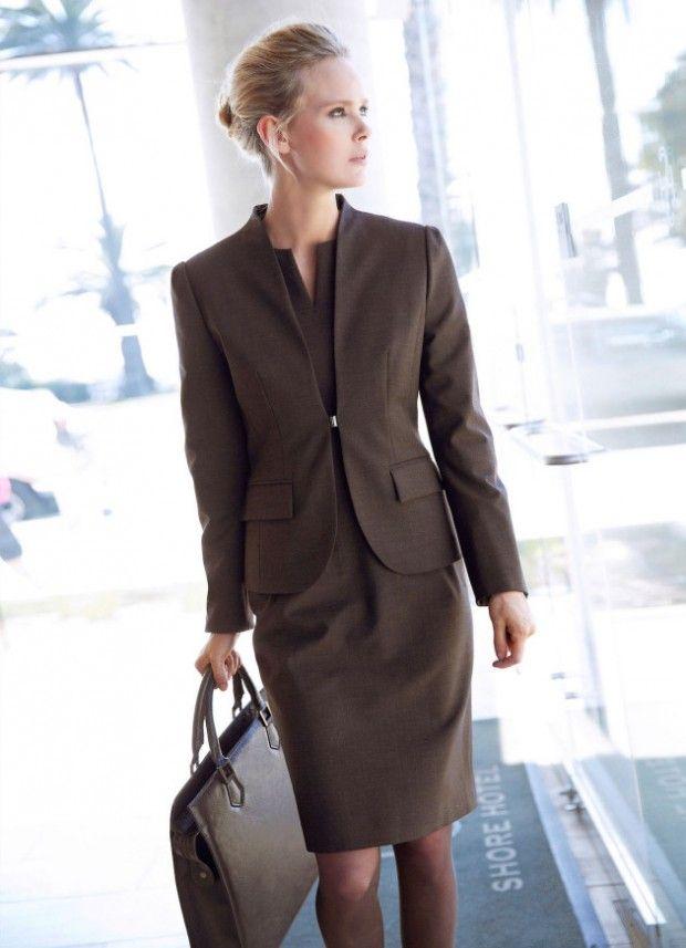 стиль бизнес леди одежда 16