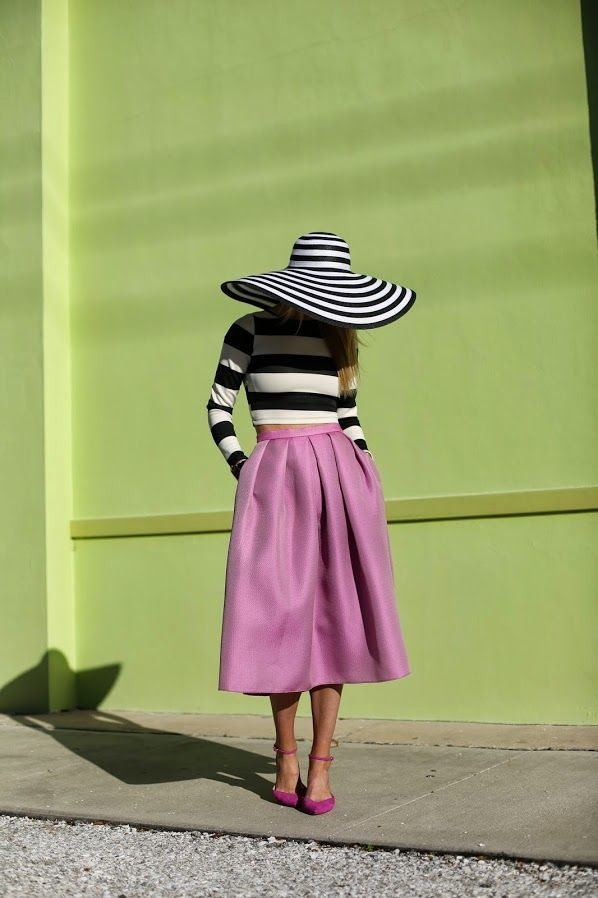 с чем носить юбку солнце 14
