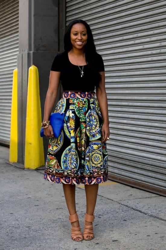 с чем носить юбку солнце 24