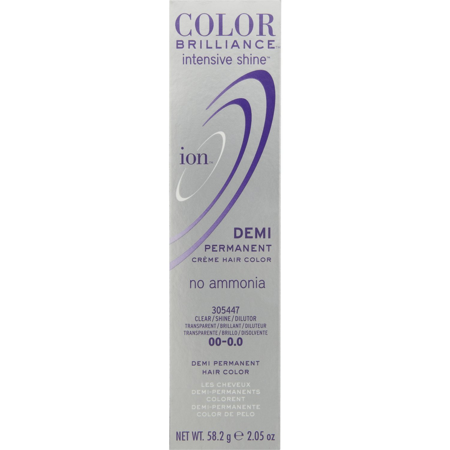 Ion Color Brilliance Intensive Shine DEMI Permanent 00 Clear