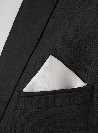 нагрудный платок в карман пиджака 07