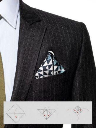 нагрудный платок в карман пиджака 11