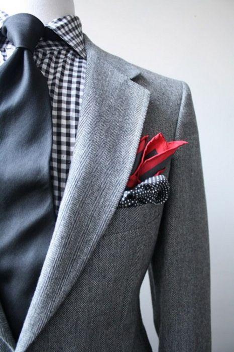 нагрудный платок в карман пиджака 23