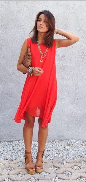 с чем носить шифоновое платье 01