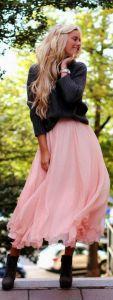 C чем носить шифоновое платье?