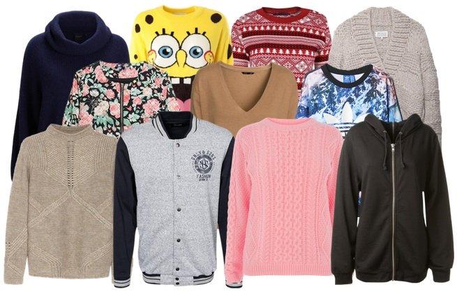 Кардиган, свитер, джемпер, свитшот, худи, бомбер В чем разница  7a87a4f4dbd