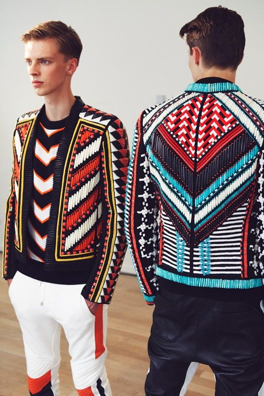 Balmain SS15 Found on dazeddigital.com
