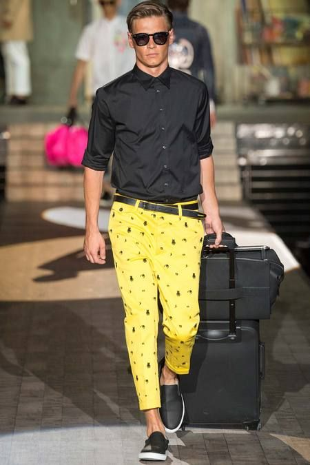 DSquared2 Spring-Summer 2015 Found on gq.com