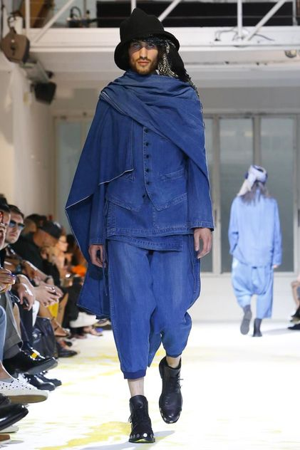Yohji Yamamoto Menswear Spring Summer 2015 Found on nowfashion.com
