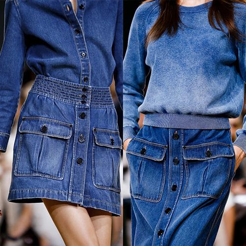 мода весна лето 2015 джинса 1