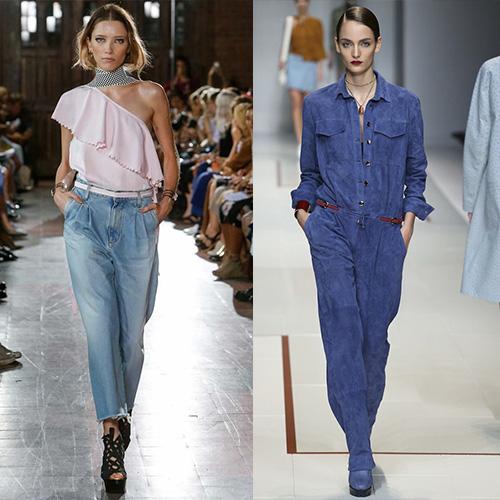 мода весна лето 2015 джинса 3