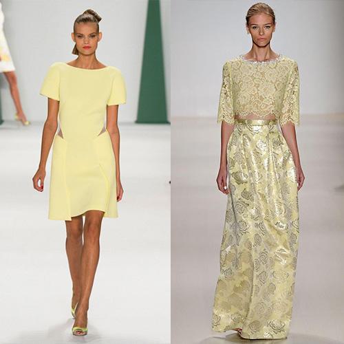 мода весна лето 2015 заварной крем 1