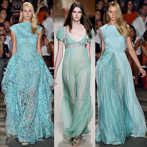 мода весна лето 2015 зеленый плексиглаз 1