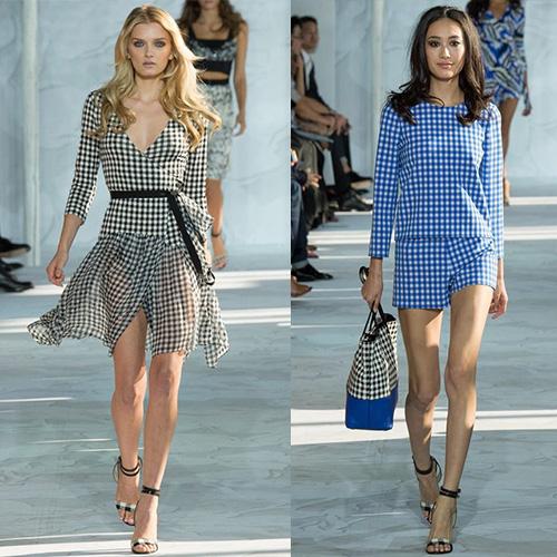 мода весна лето 2015  клетка 1